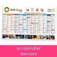 calendrier bancaire, cadeau de fin d'année